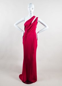 Pink Maxi Dress by J. Mendel Fuchsia Berry Red Silk