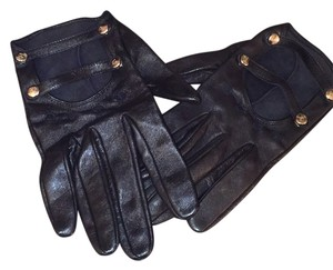 Chanel Chanel Lambskin Leather Gloves Size 7 1/2