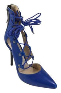 Marissa Webb Marissa Electric Blue Black Heels Pumps