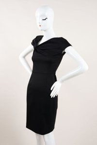 Valentino Ruched Bow Dress