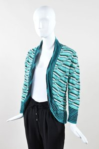 M Missoni Blue Green White Sweater