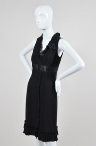 Prada Sleeveless Ruffle Dress