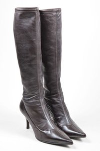 Si Rossi Sergio Leather Brown Boots