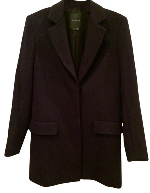 Item - Indigo Wool Coat Size 2 (XS)