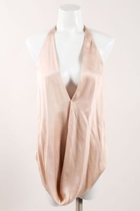 KAUFMANFRANCO Pale Pink Silk Top