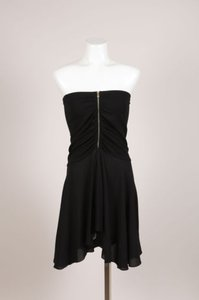Michael Kors short dress Black Ruched on Tradesy