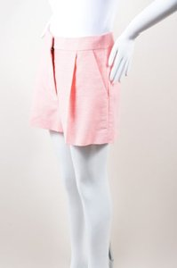 Stella McCartney Silk Dress Shorts Pink