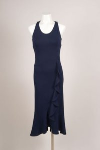VIKTOR & ROLF Navy Blue Jersey Dress