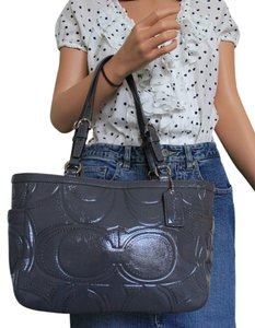 Coach Tote in Dark Gray