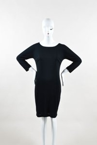 Dolce&Gabbana short dress Black Dolce Gabbana Jersey on Tradesy