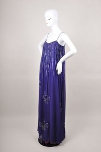 Purple Maxi Dress by Vintage Enzo Russo
