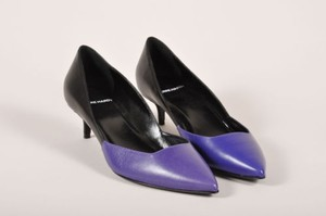 Pierre Hardy Blue Black Pumps