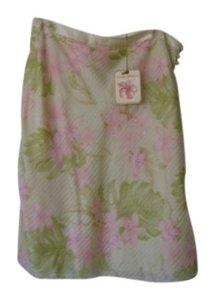 Tommy Bahama Skirt Floral; yellows, greens, pinks