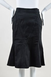 Moschino Jeans Cotton Skirt Black