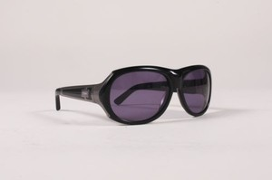 Chloé Chloe Black Metal Trim Shield Cl 2126 Sunglasses