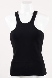 Yigal Azroul Azrouel Stretch Black Halter Top