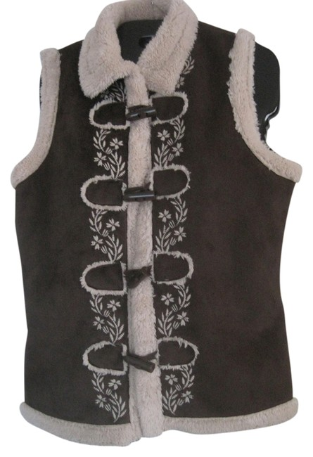 Preload https://item4.tradesy.com/images/brown-soft-faux-suede-faux-shearling-fur-jacket-vest-size-6-s-1094338-0-0.jpg?width=400&height=650