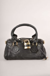 Chloé Chloe Black Leather Satchel
