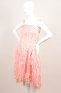 Oscar de la Renta Light Pink Dress