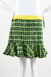 Moschino Cheap And Chic Neon Mini Skirt Multi-Color