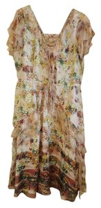 Sundance Silk Silk Chiffon Romantic Dress