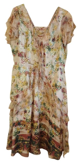 Sundance Silk Silk Chiffon Romantic Feminine Dress