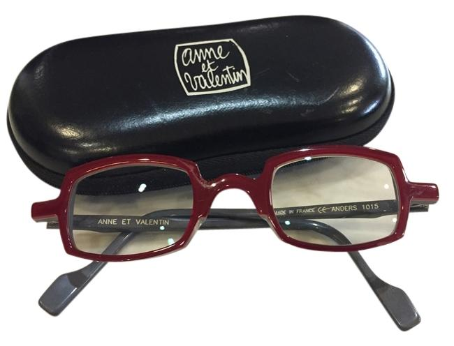 Item - Red with Grey Interior Frame Anders 1015 Sunglasses