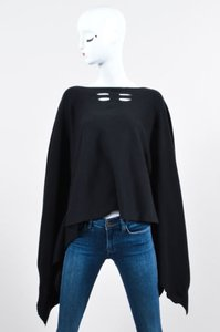 Rick Owens Faun Ss 15 Knit Wool Cut Out Cape