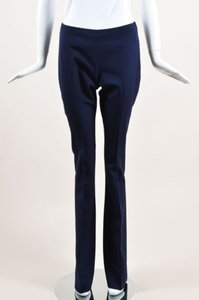 Gucci Navy Wool Flared Pants