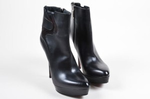 Cesare Paciotti Leather Black Boots