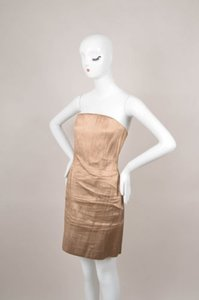 Other Vintage Paco Rabanne Fitted Strapless Dress