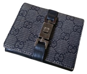 Gucci Black Gucci Jackie O Wallet 100% Authentic