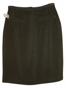 Ann Tjian for KENAR Designer Nordstrom Skirt Light Olive / Sage Green