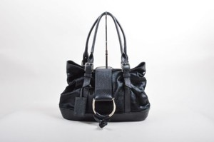 Dolce&Gabbana Pony Hair Leather Miss Perfect Handbag Satchel in Black