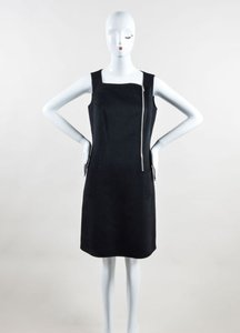Michael Kors Wool Angora Mod Zip Sl Sheath Dress