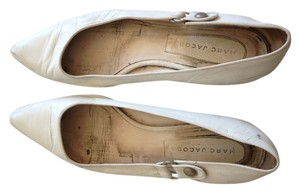 Marc by Marc Jacobs Leather White Flats