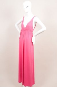 Maxi Dress by Miguelina Pink Elisa Jersey
