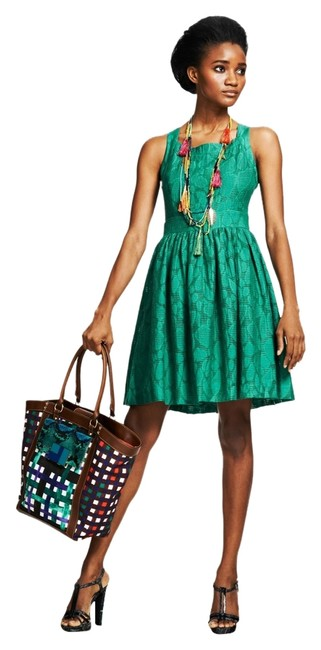 Duro Olowu for JCP short dress Duro Olowu for JCP - Green on Tradesy