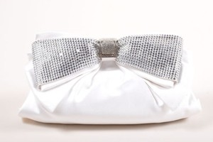 Judith Leiber Wedding White Clutch