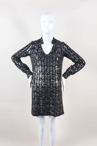 MILLY Sequined Long Dress