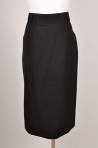 Chanel Vintage Boutique Black Classic Pencil Skirt