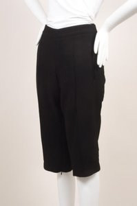 Andrew Gn Black Wool Tailored Bermuda Shorts