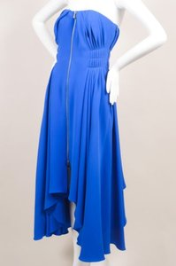 Dior Christian Royal Blue Dress