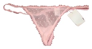 Other SEXY Light Pink Lace Sheer G String Bikini Underwear Panties Panty Small Sm S