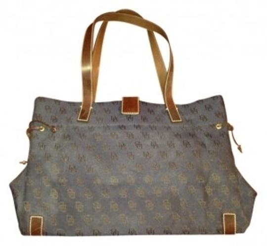 Preload https://item2.tradesy.com/images/dooney-and-bourke-and-blue-cloth-tote-10951-0-0.jpg?width=440&height=440