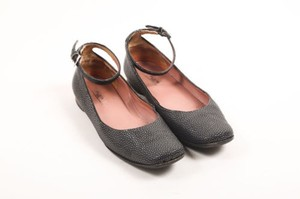 ALAÏA Alaia Leather Gray Flats