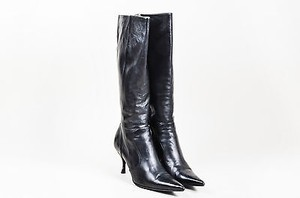 Dolce&Gabbana Dolce Gabbana Leather Black Boots