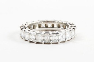 Other Sasha Primak K Platinum 2.43ct Emerald Cut Diamond Wedding Band 3.75