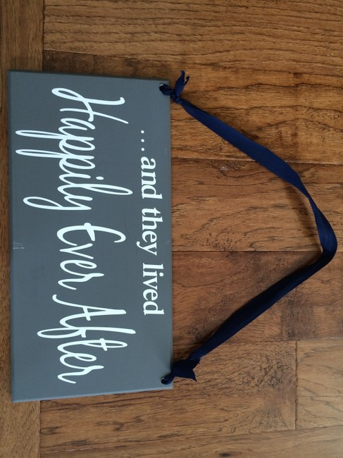 Item - Grey with White Font Ring Bearer Sign