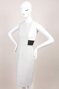 Other Roksanda Ilincic Gray Cream Black Reyton Sheath Dress
